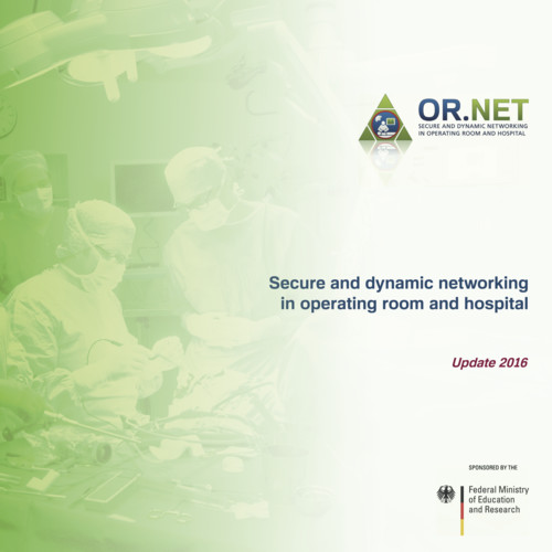 Cover of the official OR.NET brochure.